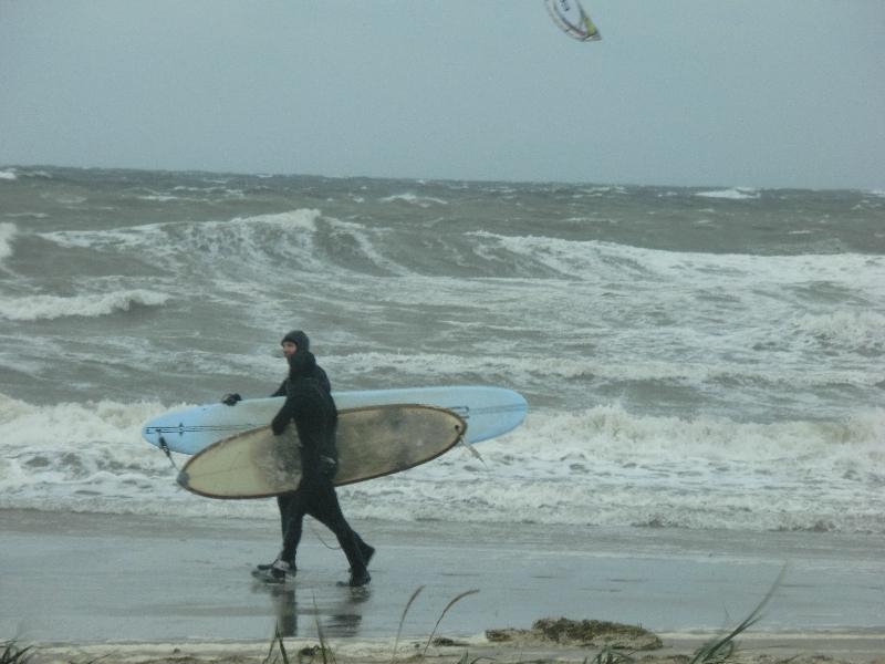 Wellenreiten in der Ostsee 4