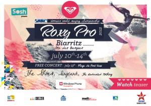 Roxy Pro 2012 Biarritz