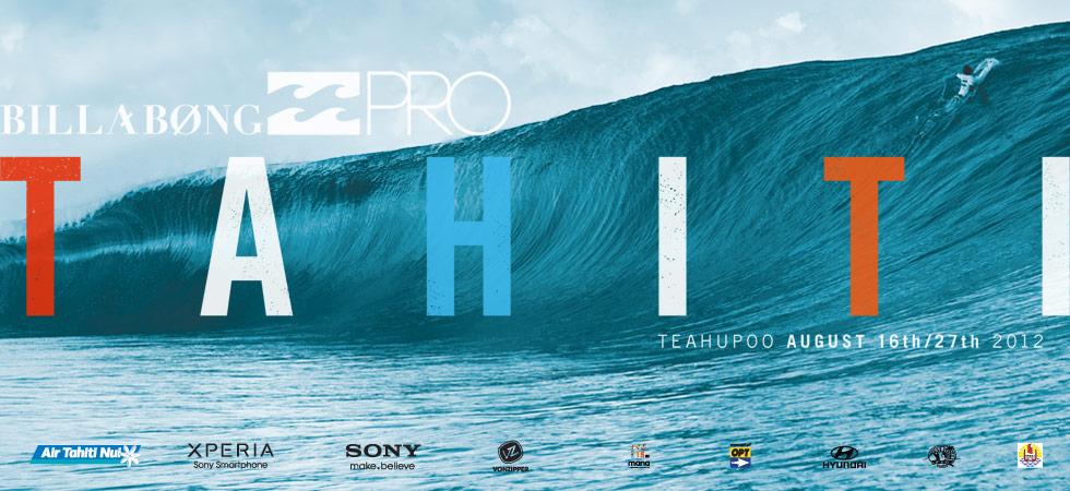 Billabong Pro 2012 Tahiti Teahupoo Live Webcast