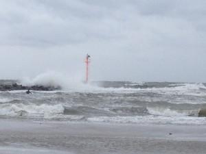 Wellenreiten in der Ostsee - Damp