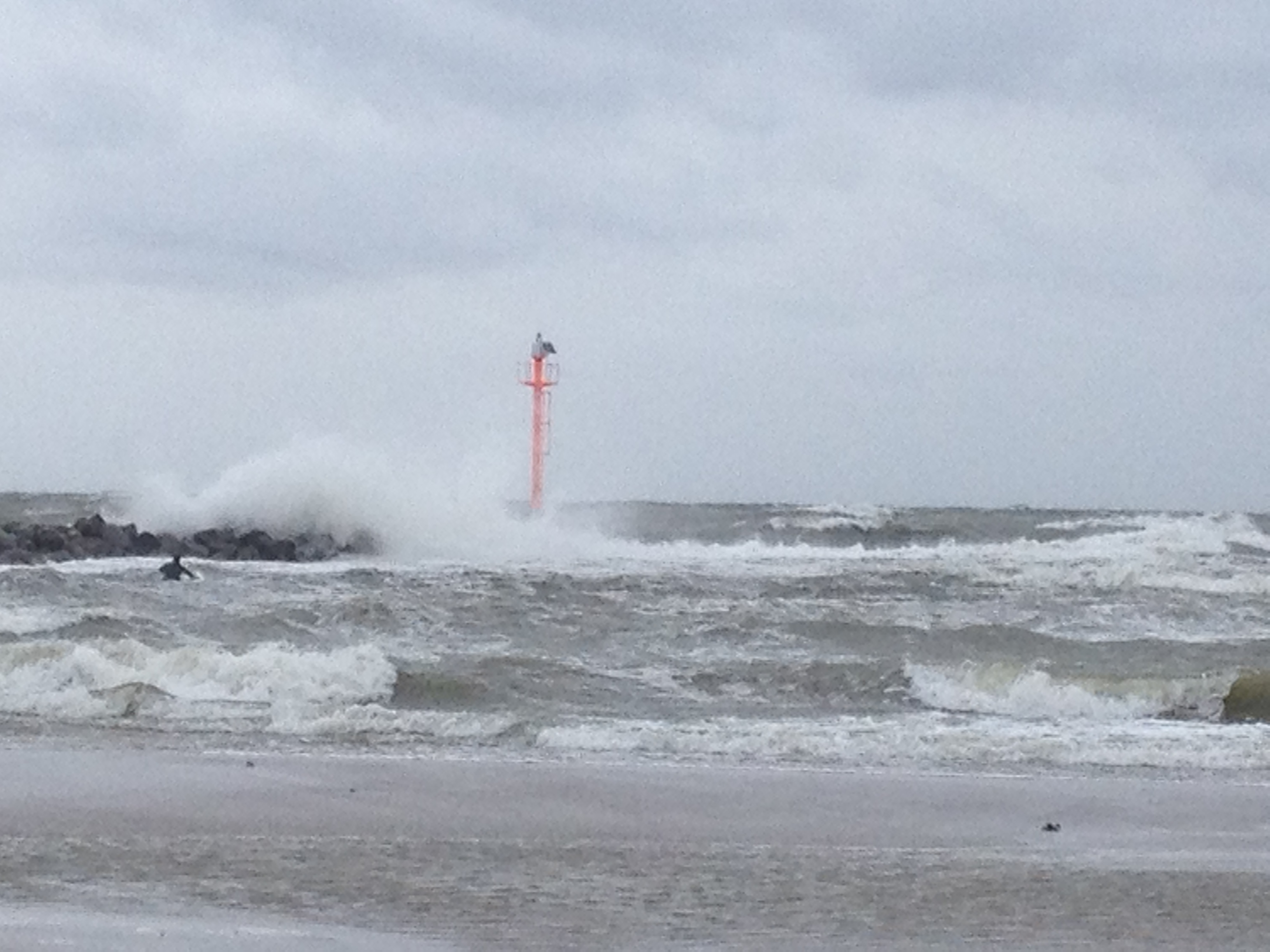 Wellenreiten Ostsee - Damp
